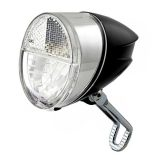 nean CREE LED Fahrrad Lampe Dynamo Frontleuchte mit Lichtautomatik 30 LUX und StVZO Zulassung